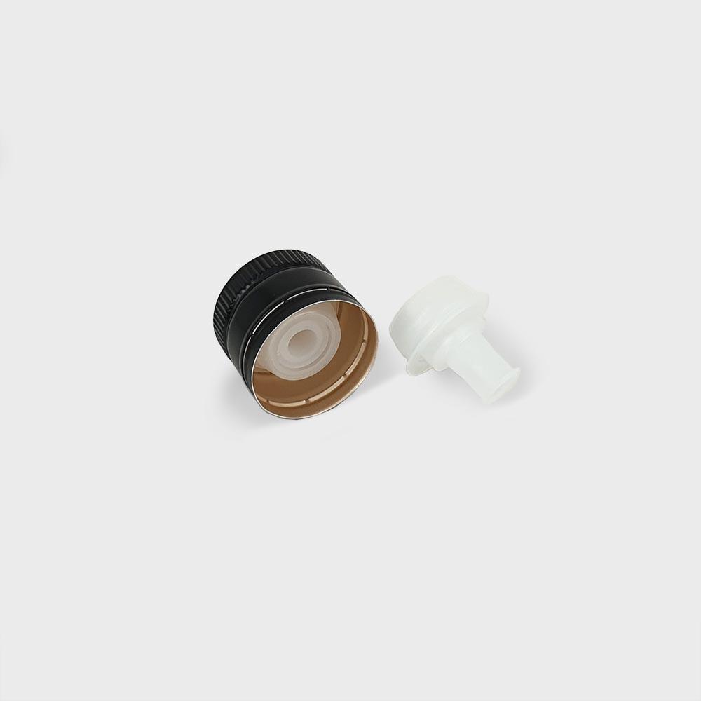 thetis pack πώμα αλουμινίου με δείκτη ροής γαλιλέο aluminum screw cap versatore pourer oil vinegar galileo