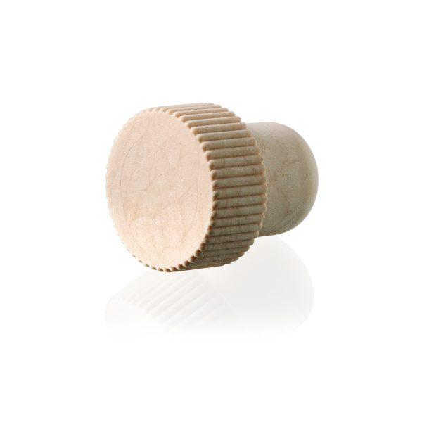 φελλός πώμα συνθετικό ραβδώσεις zigrinato synthetic cap