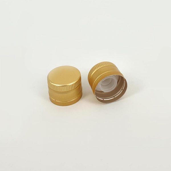 thetis pack πώμα αλουμινίου με δείκτη ροής aluminum screw cap versatore pourer oil vinegar