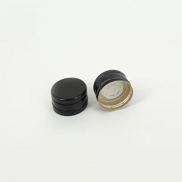 thetis pack πώμα αλουμινίου με δείκτη ροής για ξύδι aluminum screw cap versatore pourer oil vinegar